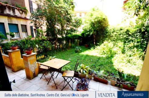 CENTRO (SALITA DELLE BATTISITINE) Appartamento con giardino