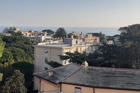 GENOVA QUARTO affittasi 6 vani Priaruggia vista mare